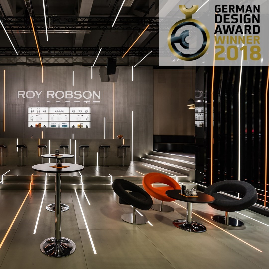 "ROY ROBSON / PANORAMA 2017/18 - Gewinner ""German Design Award 2018"""