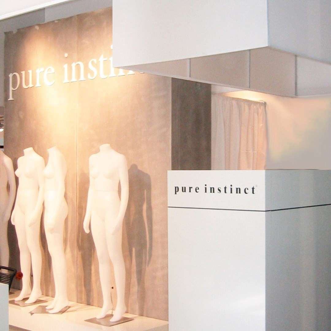 Pure Instinct | Soyaconcept  showroom and exhibition stand